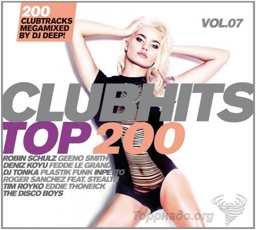 VA - Clubhits Top 200 Vol. 6-10 (Mixed by Dj Deep!) (5 Releases) - 2015-2017, FLAC (tracks), lossless